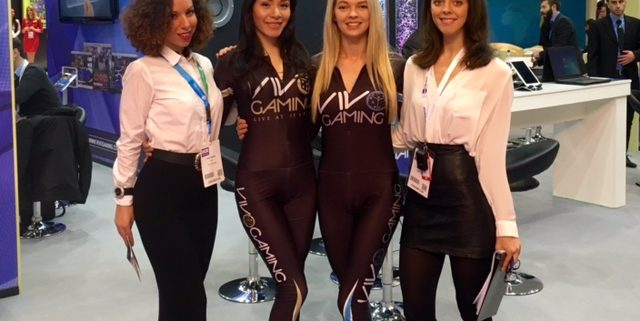 promotional staffing at Ice Gaming event 2017