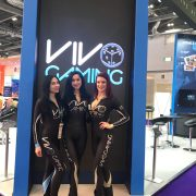 event staff at ICE Gaming 2018